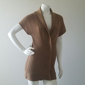 Planet Gold Sweater Top